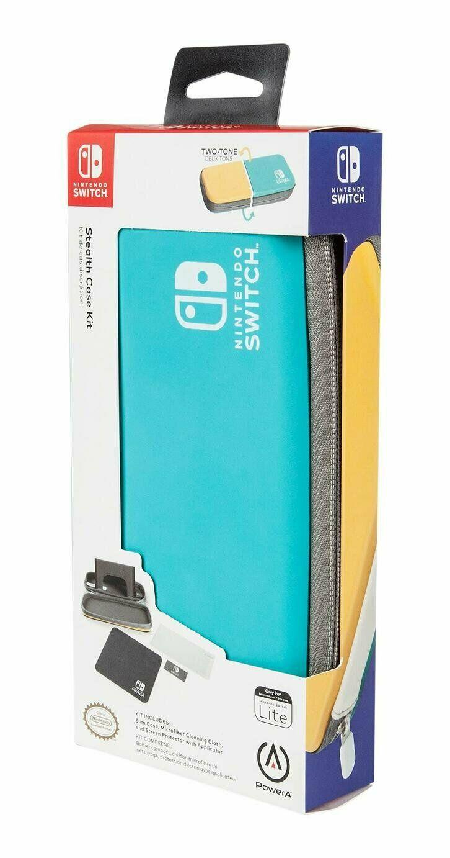 PowerA Stealth Case Kit - Two-Tone (Nintendo Switch Lite) £8.99 (Prime) / £11.98 (Non-Prime) Delivered @ Amazon