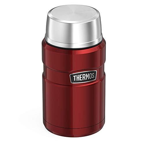 Amazon Thermos King food flask 710ml Cranberry red or rasberry colours - £16.66 Amazon Prime / £21.15 Non Prime