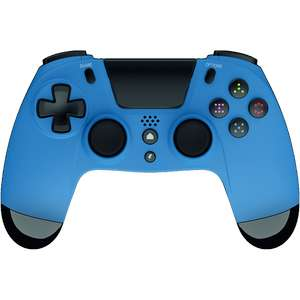 GIOTECK VX-4 WIRED PlayStation CONTROLLER - BLUE £15.99 + £4.99 delivery at Game
