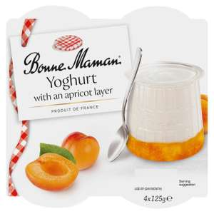 Bonne Maman Layered Yoghurts 4 x 125g - £1.50 (+ Delivery Charge / Minimum Spend Applies) @ Morrisons