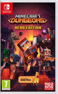 Minecraft Dungeons Hero Edition Nintendo Switch £17.99 prime / £20.98 nonPrime at Amazon