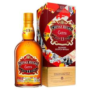 Chivas Regal Extra Blended Whisky £22 clubcard price (+ Delivery Charge / Minimum Spend Applies) at Tesco