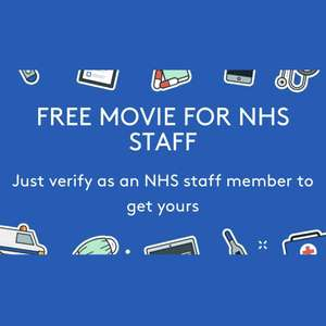 Free Movie Download for NHS Staff Members (New sign ups only) @ Rakuten TV from Vouchercodes