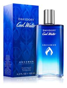 Davidoff Cool Water Aquaman Eau De Toilette 125ml £16.99 with code / Get TWO for £30 delivered with codes ( Mainland UK) @ Beauty Base