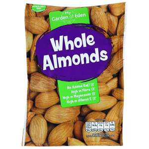 Garden of Eden Almonds , Brazil's and Cashews - 3 x 200g for £3.50 @ Home Bargains Selby branch