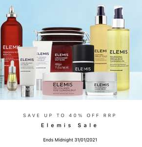 Up to 40% off Elemis at allbeauty
