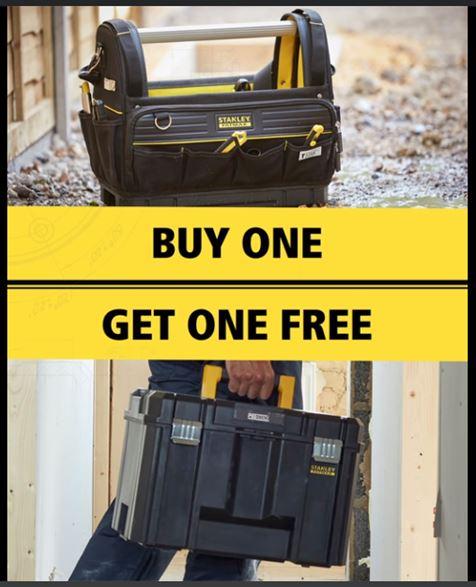 Stanley FatMax Pro-Stack Tote Bag Plus FREE Stanley FatMax Pro-Stack Deep Box £49.98 Delivered/C&C @ Toolstation