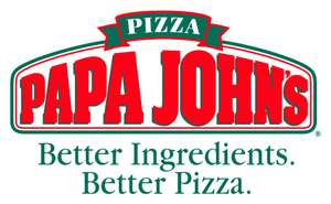 25% off when you spend £25 using code @ Papa Johns