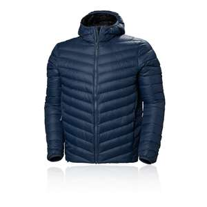 HELLY HANSEN Mens Verglas Hooded Down Jacket (North Sea Blue) £76.98 Delivered (with code) @ Sportpursuit
