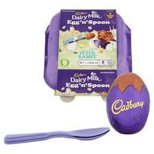 Cadbury Egg 'N' Spoon Oreo or Double Chocolate 136G - £1 (Clubcard) (+ Minimum Basket / Delivery Charges Apply) @ Tesco