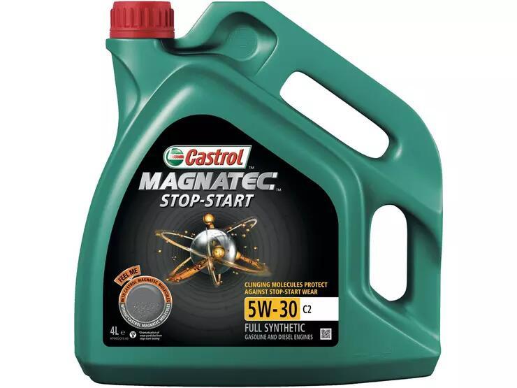 Castrol Magnatec Stop-Start 5W-30 C2 4L £17.50 + £3.99 delivery at Halfords (Mainland UK delivery)