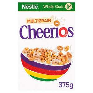 Nestle Cheerios Cereal 375G £1.27 / Honey Cheerios £375G £1.30 / Frosted Shreddies 500G £1.50 (Minimum Basket / Delivery Charge) @ Tesco