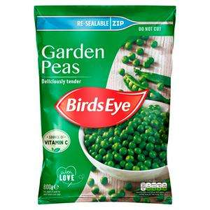 Birds Eye Garden Peas 800g - £1.50 (+ Delivery Charge / Minimum Spend Applies) @ Sainsbury's