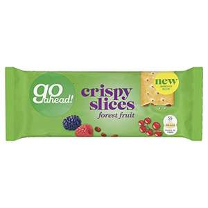 Go ahead forest fruits crispy slices 83p delivered Prime / £5.32 Non prime @ Amazon