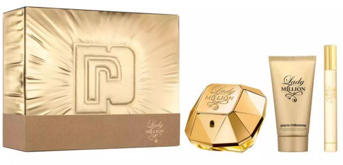 Paco Rabanne - 'Lady Million' Eau de Parfum & Body Lotion Gift Set £41.68 delivered at Debenhams