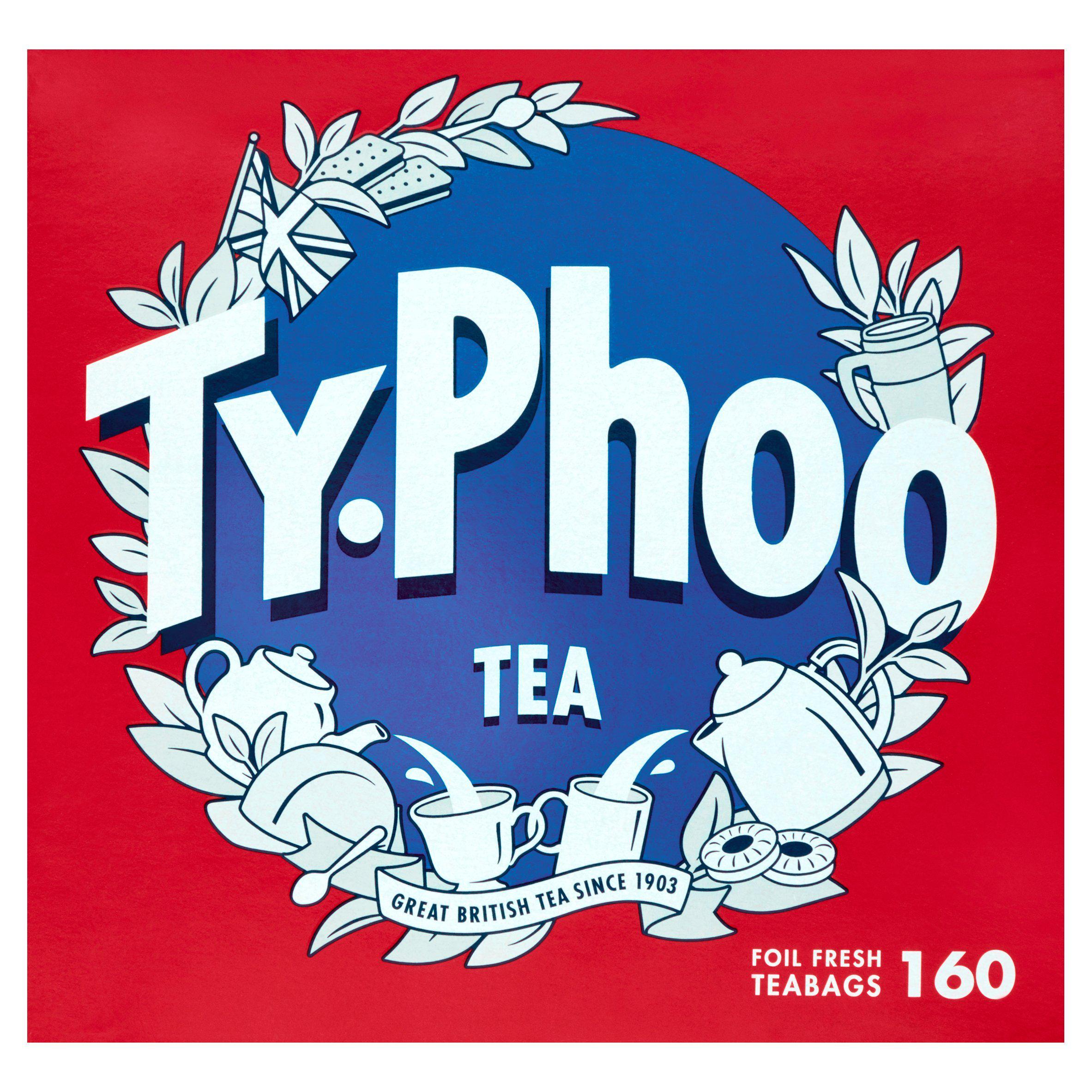 Typhoo tea bags 160s - 464g - 55p at Sainsburys Blackpool