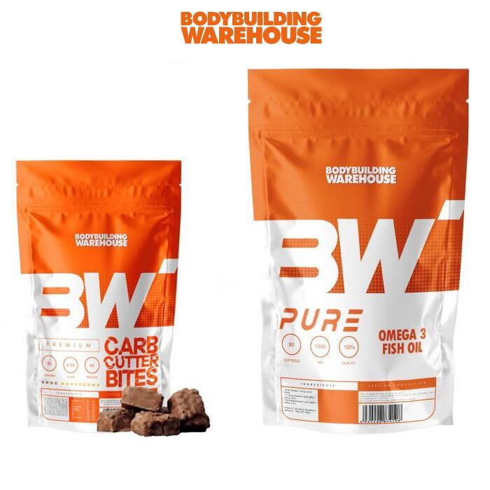 70% Off Selected Items - 24 Premium Carb Cutter Bites £6.79 Delivered / 1000 Omega 3 Softgels £15.79 Delivered @ Bodybuilding Warehouse