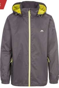 Trespass Mens Briar Waterproof Jacket (Black/Blue/Carbon) Sizes: S/M - £13.99 + £3.99 delivery ebay / great_bargains_at_winfields