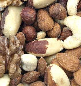Premium Mixed Nuts 1kg £9.99 ? or 3 for £25 mix & match. Plus 5% first order!!! - £5.99 delivery @ Grape tree