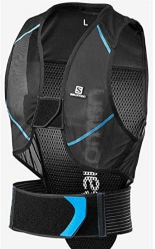 SALOMON Men's Ski Back Protector, Adjustable, Motion Fit Technology, Breathable Mesh Material, Flexcell size L £65.20 @ Amazon