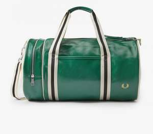 Fred Perry Classic barrel bag £40 at Fred Perry Shop