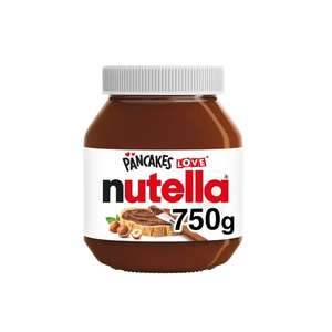 Nutella 750g 2 for £6 instore @ Farmfoods