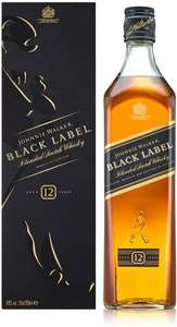 Johnnie Walker Black Label Scotch Whisky 70cl - £20 @ Amazon