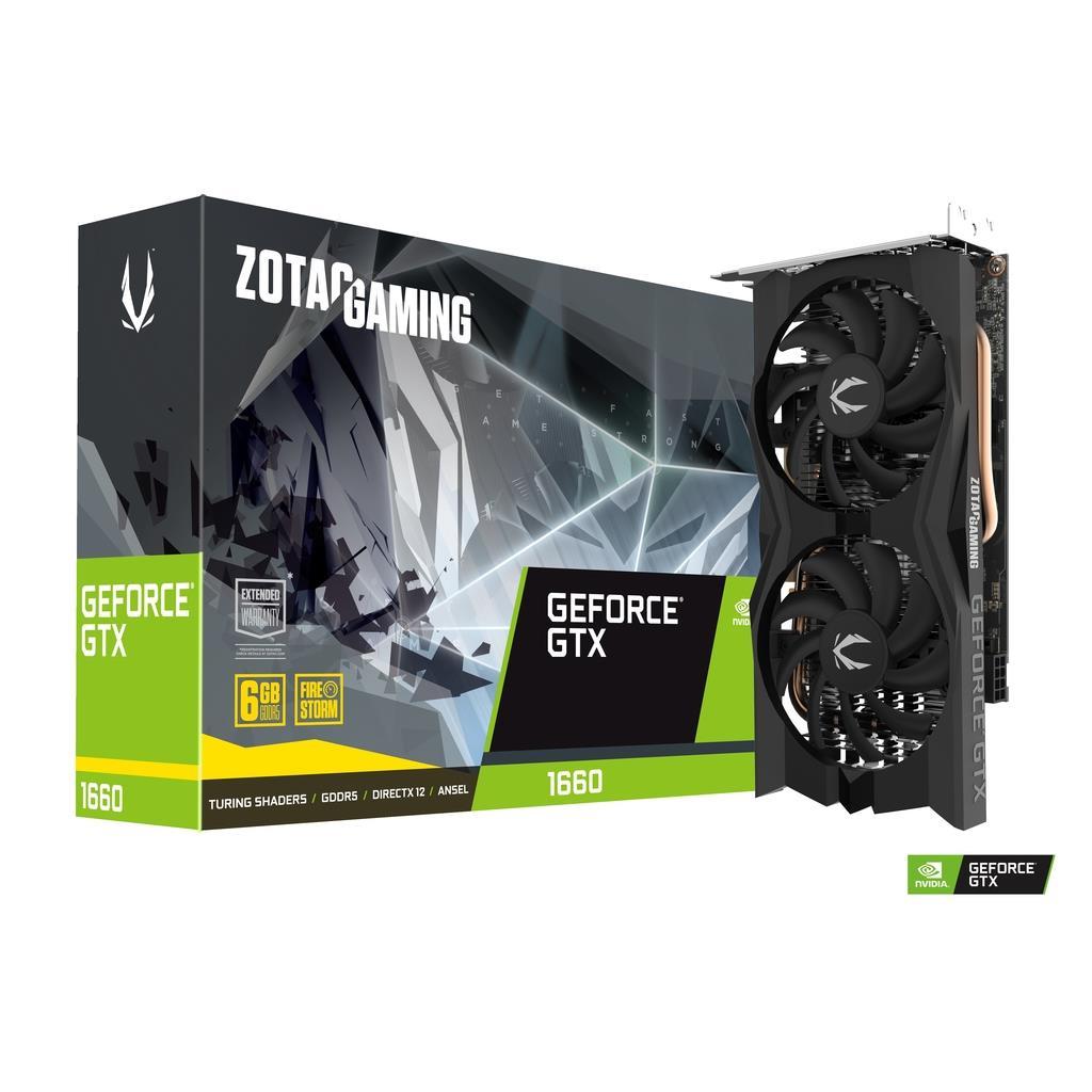 Zotac GeForce GTX 1660 - £211.81 delivered @ Quzo