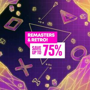 Remasters & Retro Sale - Uncharted Collection £7.99 The Raven Remastered £4.99 God of War III Remastered £7.99 +More @ PlayStation PSN UK