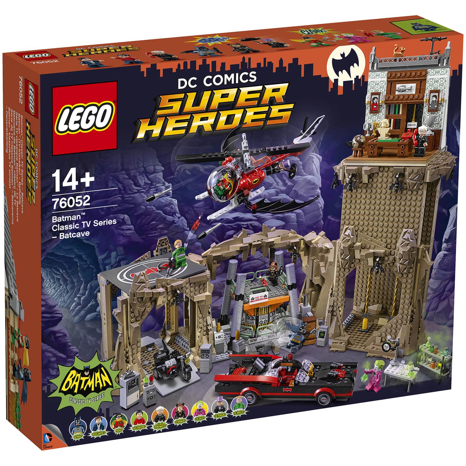 LEGO Super Heroes classic batcave 76052 - £211.98 delivered at Zavvi
