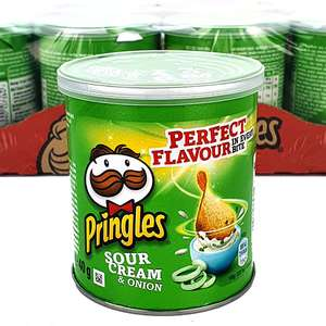 24 x Pringles Sour Cream & Onion Flavour 40g Tubs £10 From Yankee Bundles