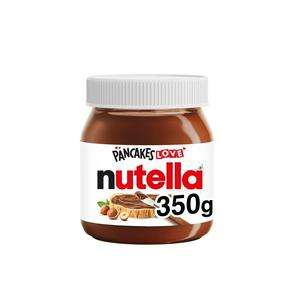 Nutella Chocolate Spread 350g - £2 @ Sainsbury's (+ Delivery Charge / Minimum Spend Applies)
