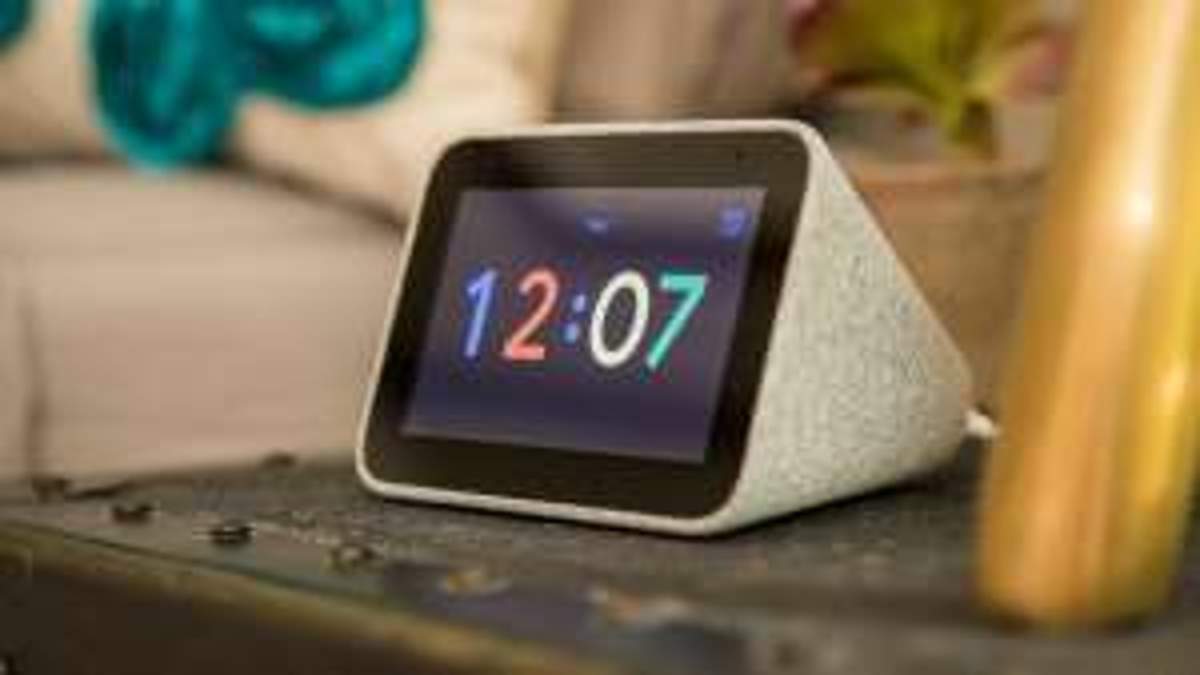 LENOVO Smart Clock with Google Assistant - Graphite Grey (original clock not Essential version) - £44.99 delivered @ Technoshack