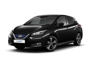 Nissan Leaf 160kW e+ N-TEC 62kWh Auto Lease 36 months 5K miles £209.04pm with 6 months up front £8768.60 Nationwide Vehicle Contracts