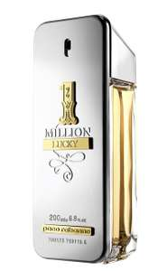 Paco Rabanne 1 Million Lucky Eau de Toilette 200ml £42.50 With Code & Free Delivery at Boots