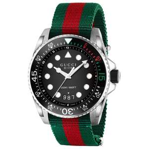 Gucci Dive YA136209A 200M Sapphire Divers Watch - £392 @ Beards