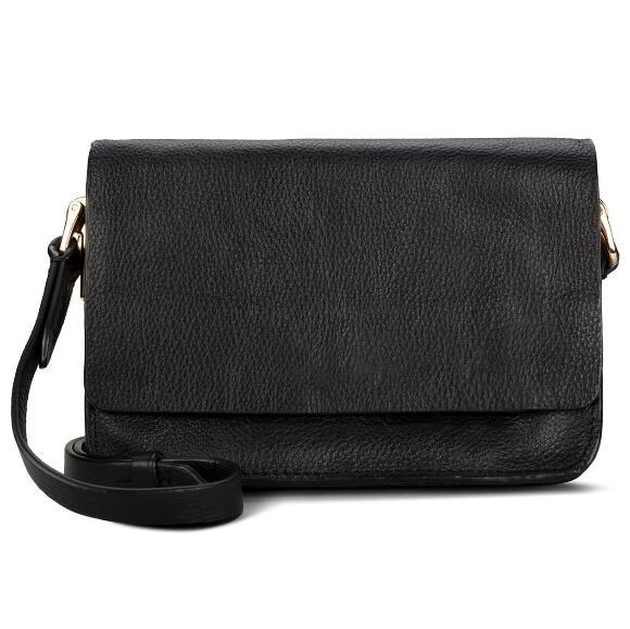 Summer Treen Black Leather Bag £21.95 delivered @ Clarks