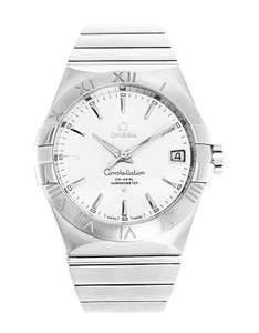 Omega - Constellation, Stainless Steel Men's ChronoMeter Watch £2650 @ Guest & Phillips