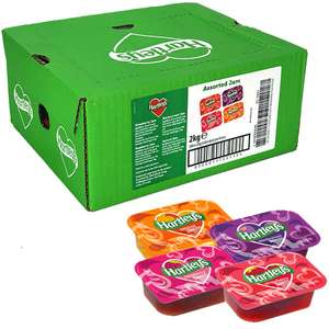 100 X Hartleys Individual Assorted Jam 20g Portions (Total 2kg) Bb End Of Feb 2021 £4 @ Yankee Bundles