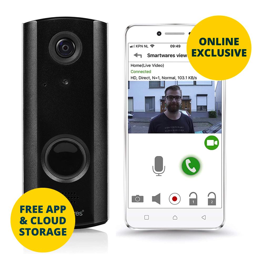 Byron Wi-Fi Video Doorbell - Free Cloud Storage & Vacuum Storage bags £49.99 @ Home Bargains