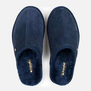 Goodwin Smith men's real sheepskin slippers - 3 colours £24.49 delivered @ goodwin smith