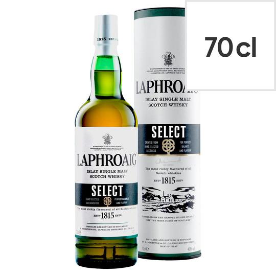 Laphroaig Select Islay Single Scotch Whisky Malt Whisky 70Cl - Smoky £23 (Minimum Basket / Delivery Fee Applies) at Tesco