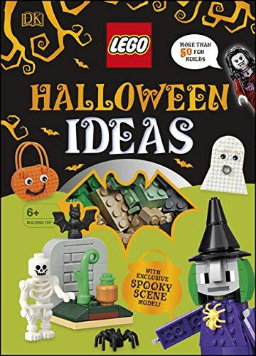 DK LEGO Halloween Ideas Hardcover Book - £5.01 (+ £2.99 Non-Prime) @ Amazon