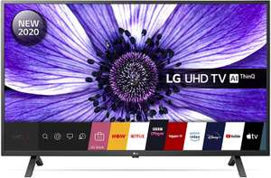 """LG 65UN70006LA (2020) 65"""" HDR 4K Ultra HD Smart TV with Freeview/Freesat £529 at John Lewis and partners"""