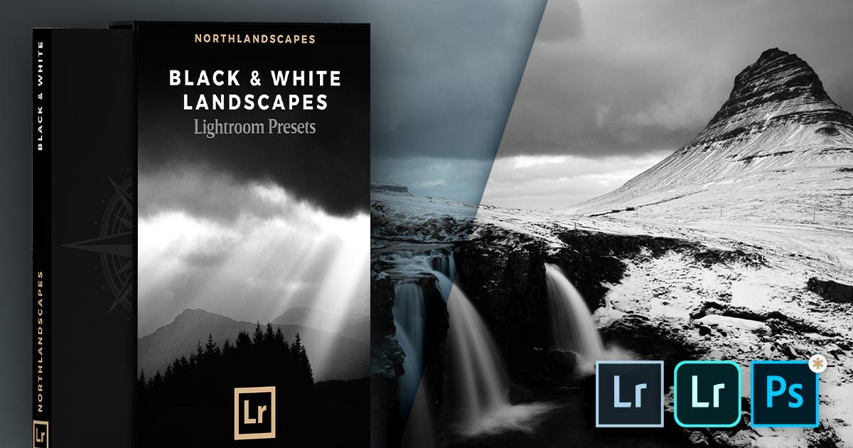 FREE Lightroom Presets for Black & White Landscapes for Desktop and Mobile at Northlandscapes