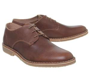 Office Celsius Desert shoes in tan leather (some sizes available) for £19.99 delivered using code @ Office