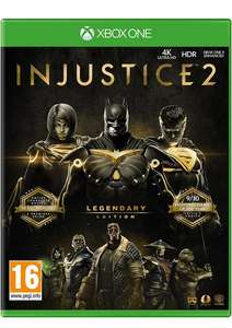 Injustice 2 Legendary Edition on Xbox One for £9.99 delivered @ Simply Games