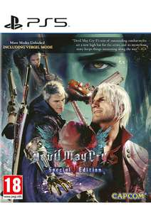 Devil May Cry 5 Special Edition [PS5] £21.99 delivered @ Simply Games