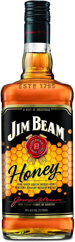 Jim Beam Honey Bourbon Whiskey Liqueur, 70cl for £13 Prime / (+£4.49 Non Prime) @ Amazon