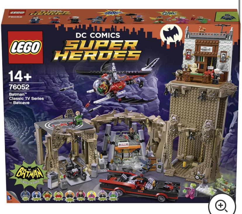Lego DC Super Heroes 76052 Batman Tv Series Batcave - £199.99 + £1.99 Delivery @ Zavvi